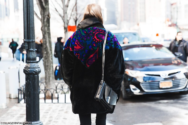 New_York_Fashion_Week-Fall_Winter_2015-Street_Style-NYFW-Vintage_Fur_Coat-