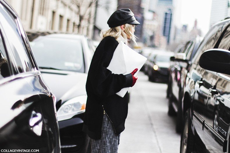 New_York_Fashion_Week-Fall_Winter_2015-Street_Style-NYFW-White_Clutch-1
