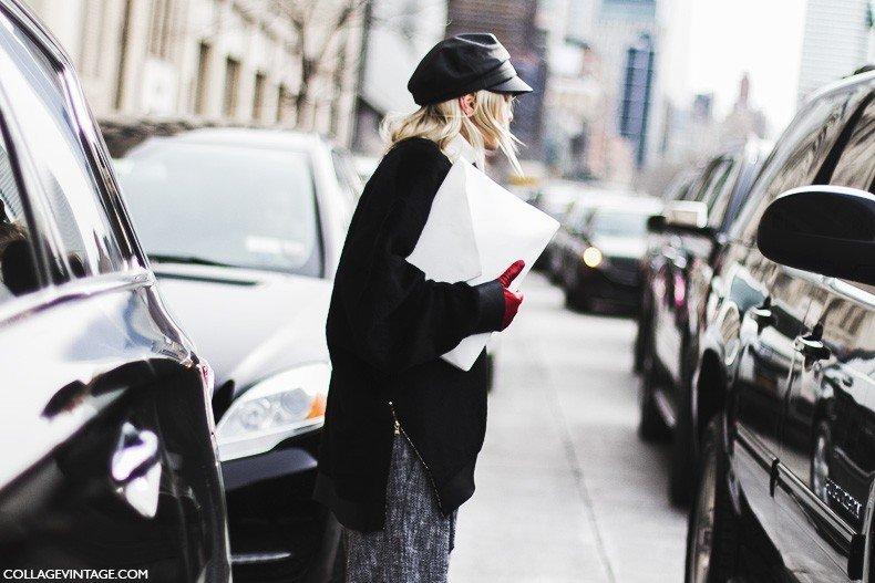 New_York_Fashion_Week-Fall_Winter_2015-Street_Style-NYFW-White_Clutch-1