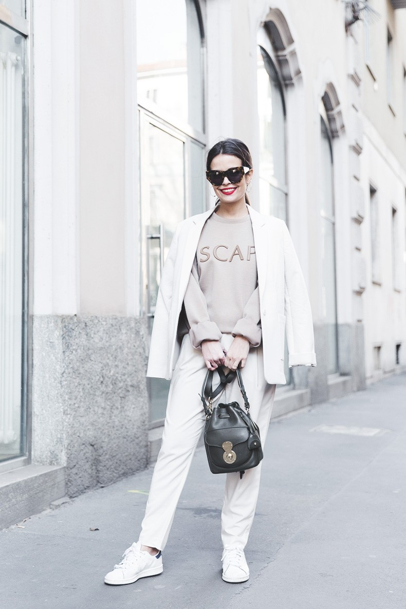 Calvin_Klein-Escape_Sweatshirt-White_Nude_Outfit-Street_Style-MFW-Milan_Fashion_Week_Fall_Winter_2015-14