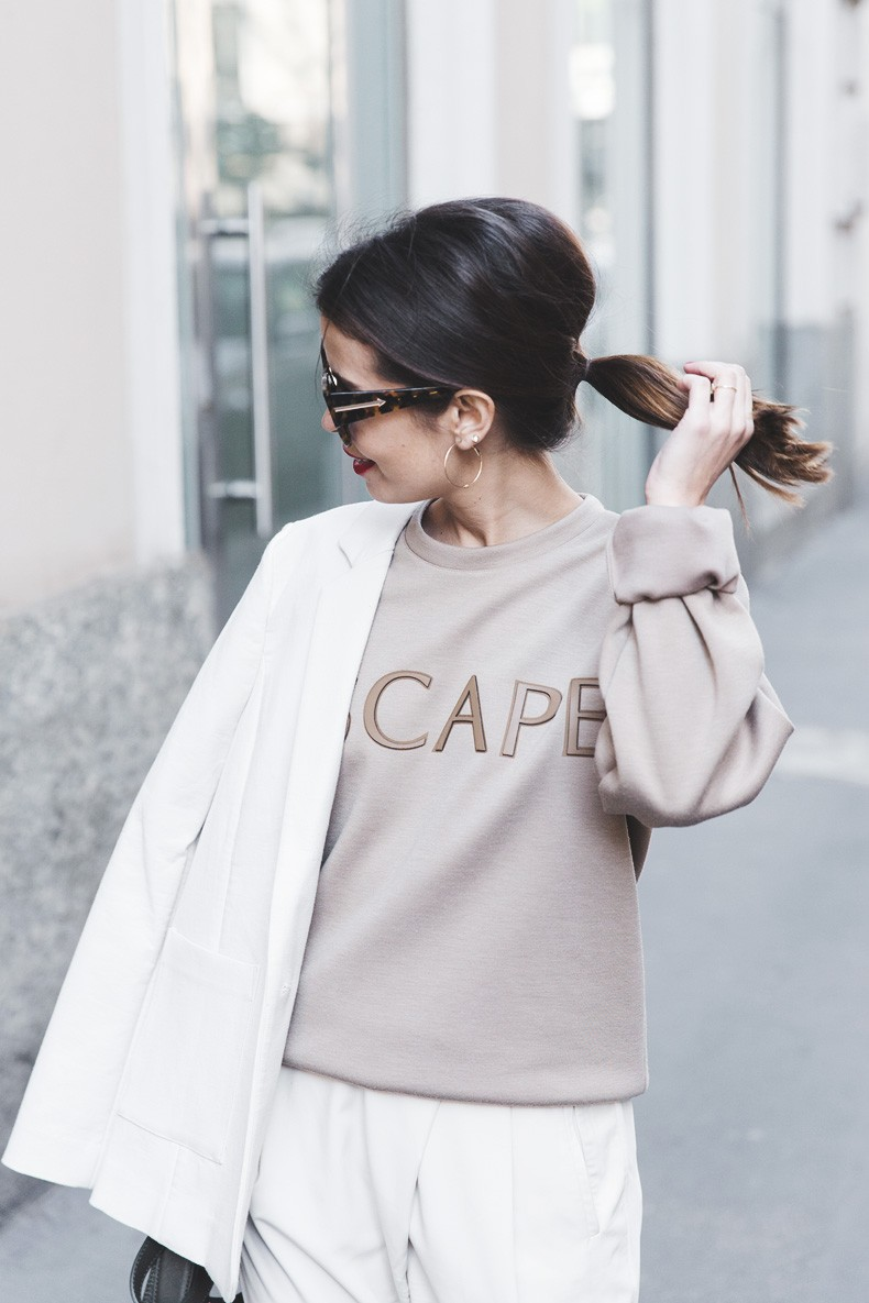 Calvin_Klein-Escape_Sweatshirt-White_Nude_Outfit-Street_Style-MFW-Milan_Fashion_Week_Fall_Winter_2015-36