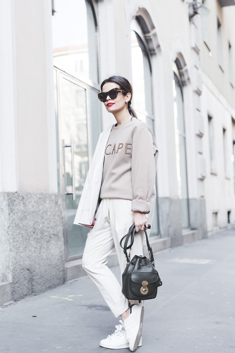 Calvin_Klein-Escape_Sweatshirt-White_Nude_Outfit-Street_Style-MFW-Milan_Fashion_Week_Fall_Winter_2015-42