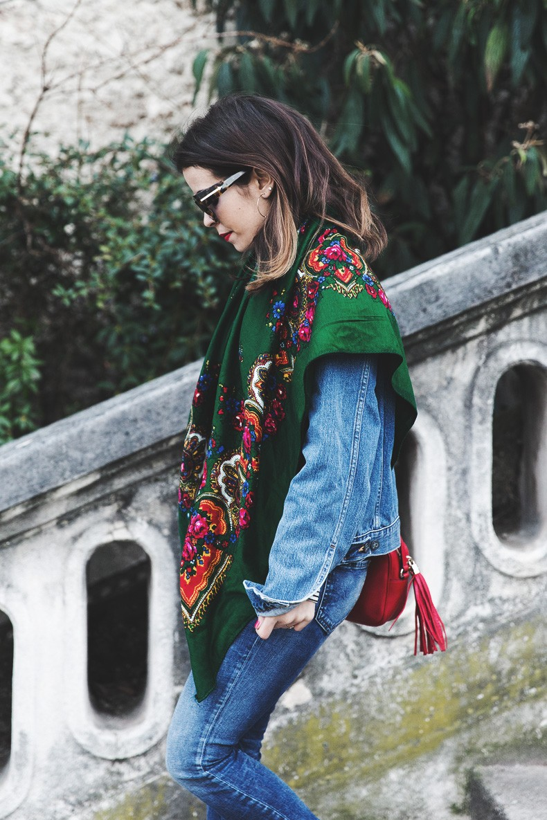 Double_Denim-Vintage_Scarf-ISabel_Marant_Sneakers-Striped_Top-PFW-Paris_Fashion_Week-Street_Style-27