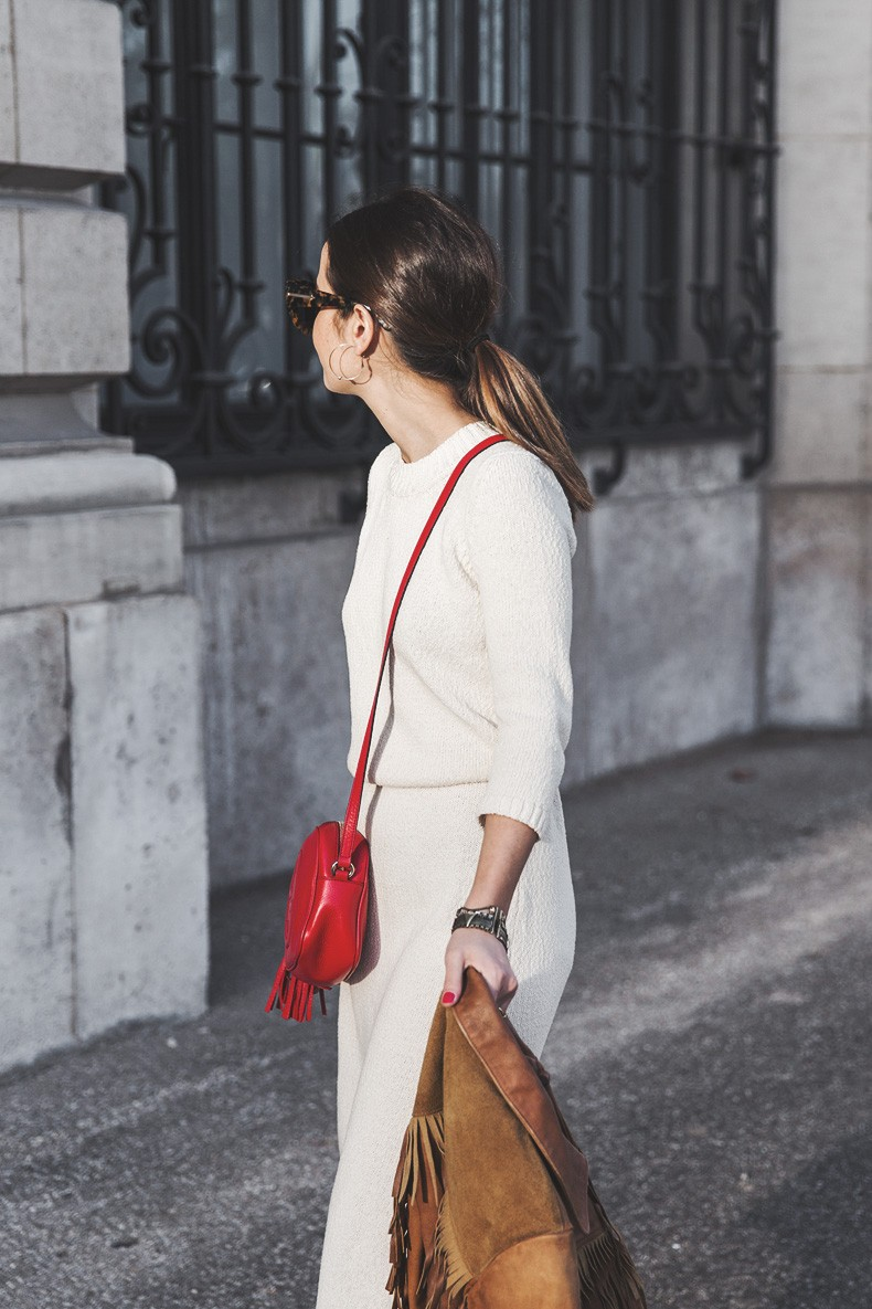 Fringed_Jacket-Polo_Ralph_Lauren-Flame_Sneakers-Isabel_Marant-Gucci_Disco_Bag-White_Dress-Outfit-Street_Style-15