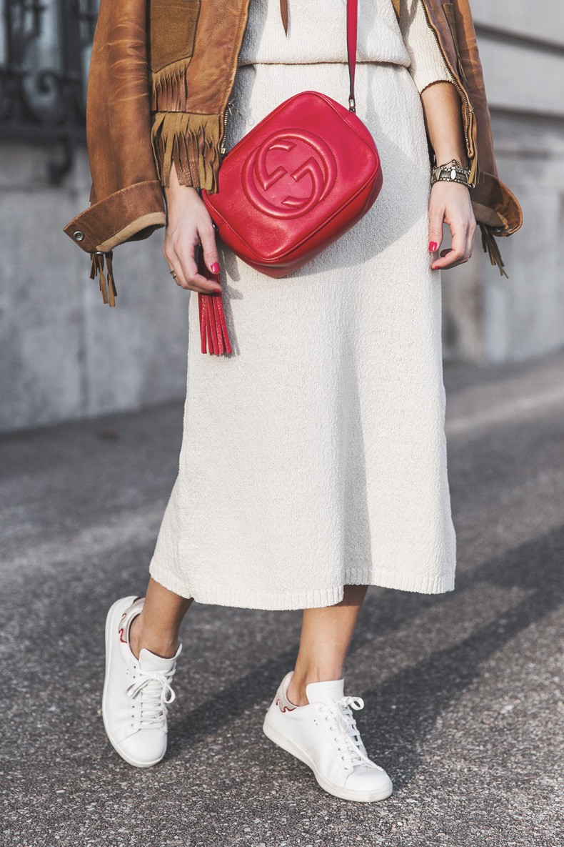 Fringed_Jacket-Polo_Ralph_Lauren-Flame_Sneakers-Isabel_Marant-Gucci_Disco_Bag-White_Dress-Outfit-Street_Style-19