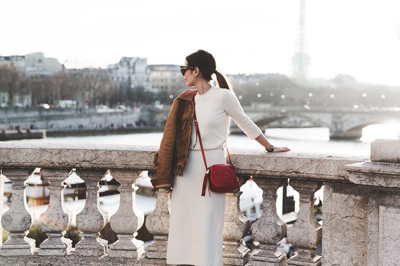 Fringed_Jacket-Polo_Ralph_Lauren-Flame_Sneakers-Isabel_Marant-Gucci_Disco_Bag-White_Dress-Outfit-Street_Style-35
