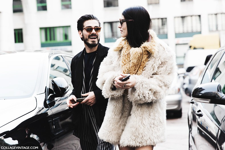 Milan_Fashion_Week-Fall_Winter_2015-Street_Style-MFW-Gilda_Ambrosio-Fur_Coat-4