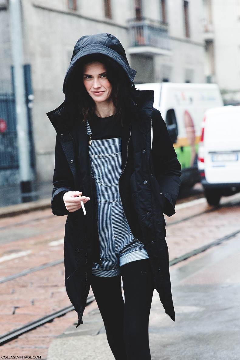 Milan_Fashion_Week-Fall_Winter_2015-Street_Style-MFW-Model-Striped_Overall-
