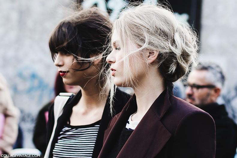 Milan_Fashion_Week-Fall_Winter_2015-Street_Style-MFW-Models-Dolce_Gabbana-Anna_Ewers-2