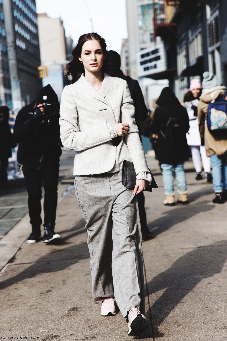 New_York_Fashion_Week-Fall_Winter_2015-Street_Style-NYFW-Grey_Outfit-2