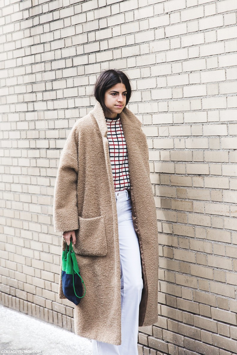 Say cheese leandra medine collage vintage Street style ny fashion week fall 2015