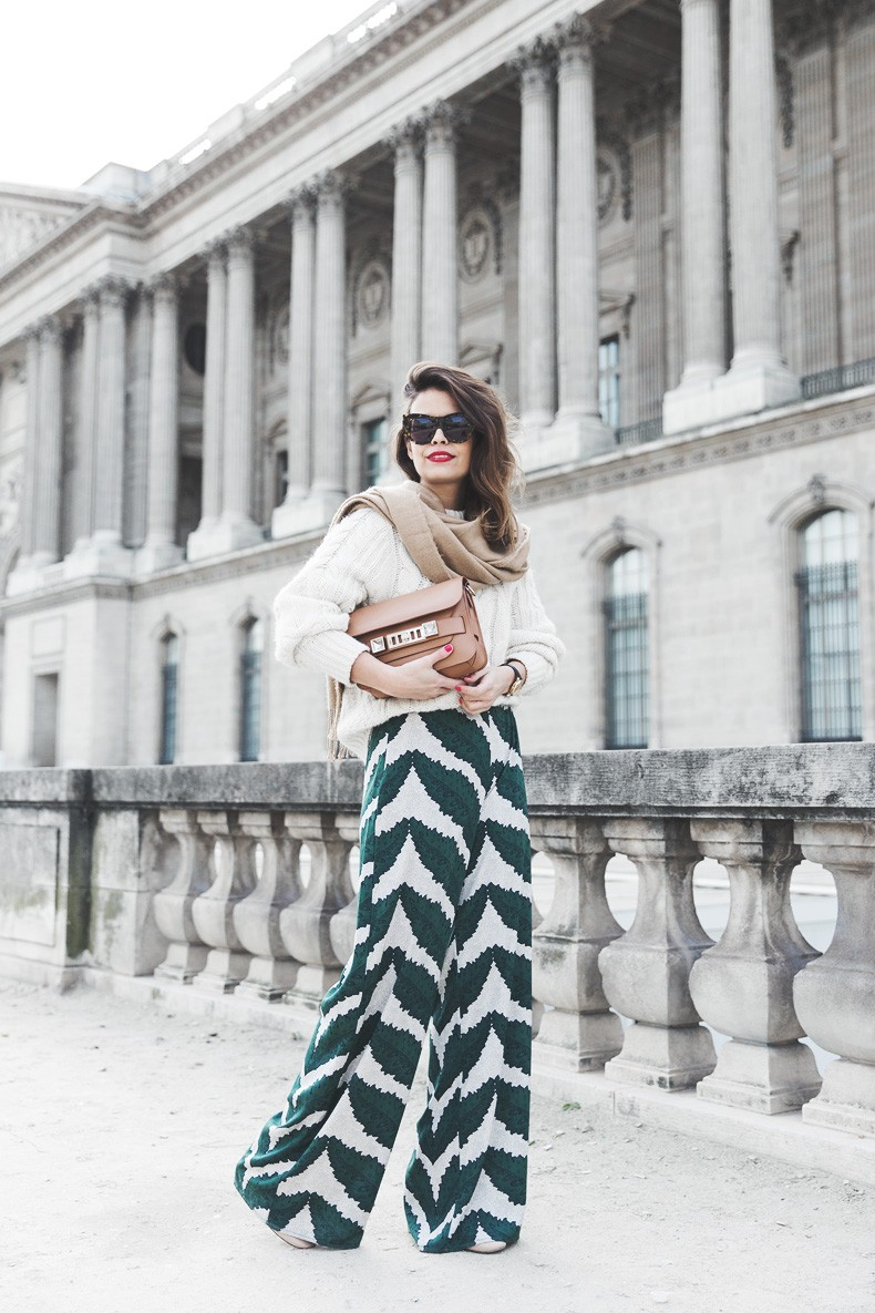 Palazzo_Trousers-Maje_Knitwear-Scarf-Proenza_Schouler-Outfit-Street_Style-2
