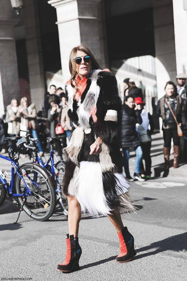 Paris_Fashion_Week-Fall_Winter_2015-Street_Style-PFW-Anna_Dello_Russo-Fur_Coat-1
