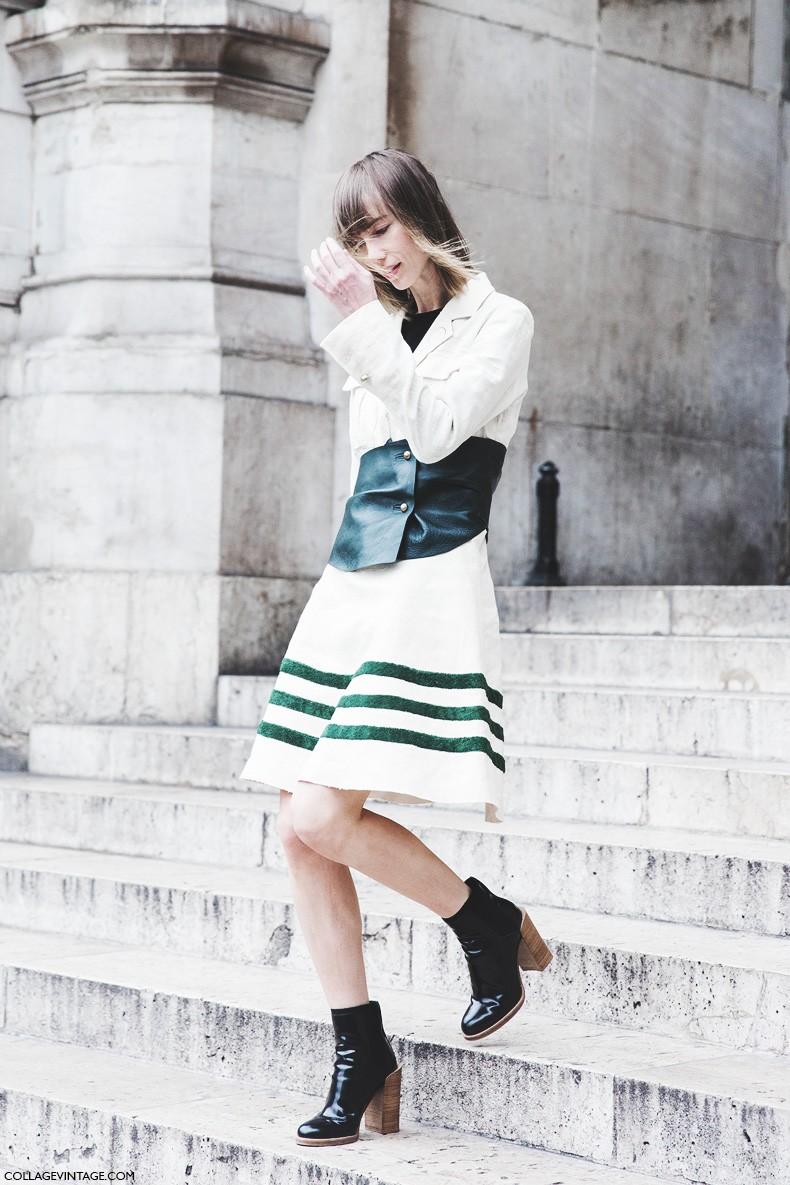 Street style pfw vi collage vintage Fashion style oktober 2015