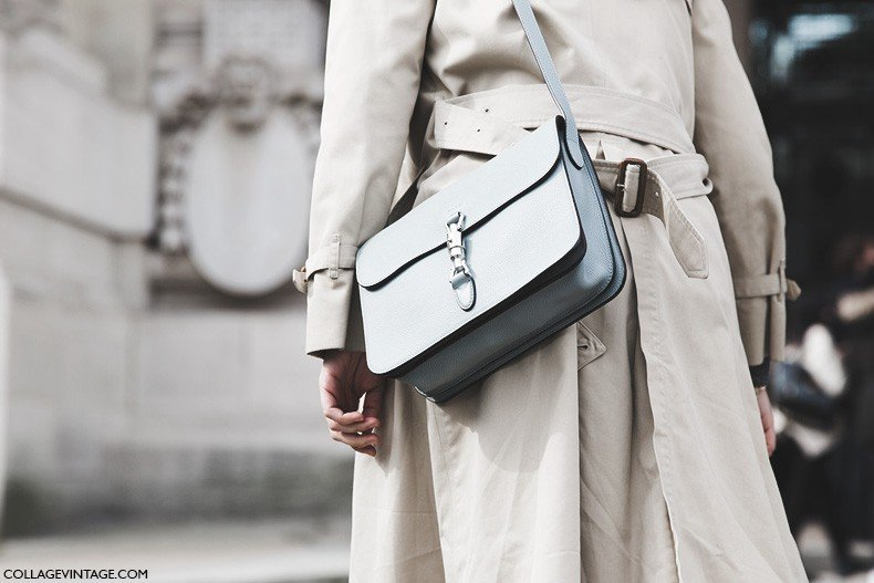 Paris_Fashion_Week-Fall_Winter_2015-Street_Style-PFW-Berta_Alvarez-Trench_Coat-