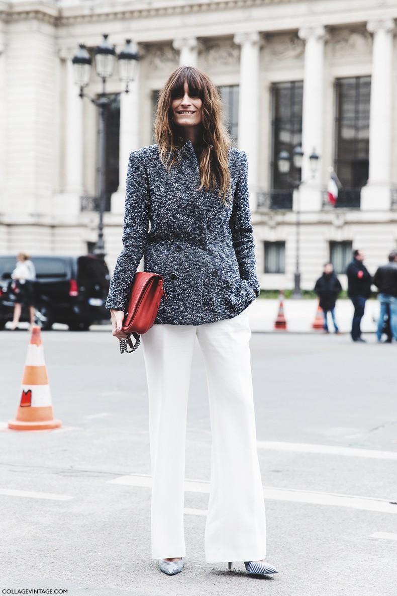 Street style pfw vii collage vintage Fashion style oktober 2015