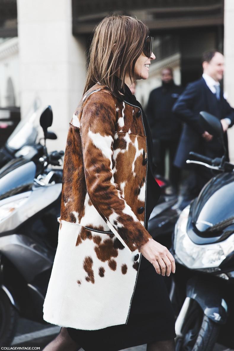 Paris_Fashion_Week-Fall_Winter_2015-Street_Style-PFW-Caroline_Rotfield-Cow_Coat-