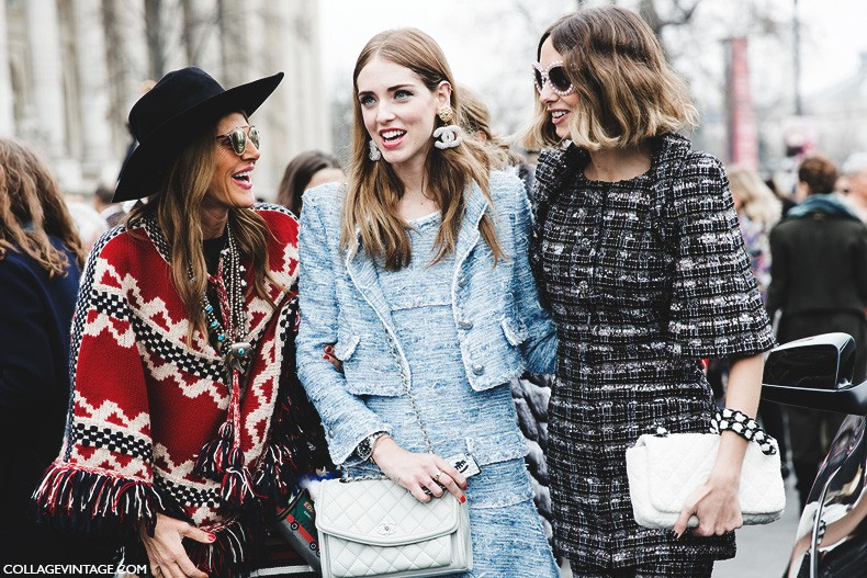 Paris_Fashion_Week-Fall_Winter_2015-Street_Style-PFW-Chanel-Anna_Dello_Russo-Candela_Novembre-Chiara_Ferragni.-