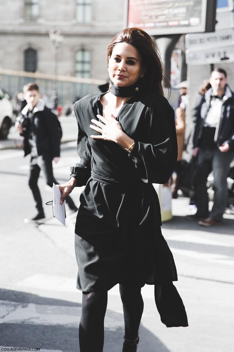 Paris_Fashion_Week-Fall_Winter_2015-Street_Style-PFW-Christine_Centenera_Total_Black-Dior-