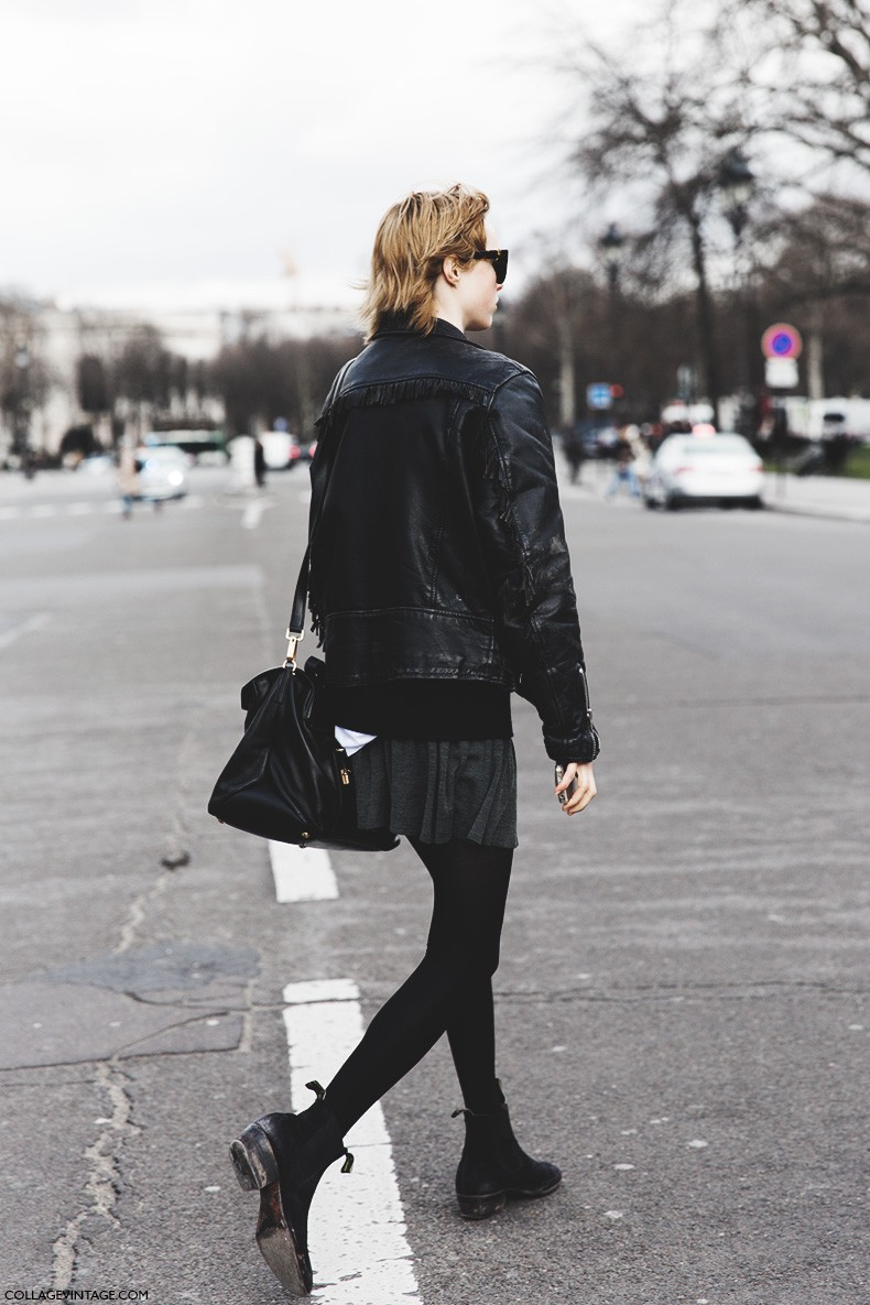 Paris_Fashion_Week-Fall_Winter_2015-Street_Style-PFW-Edie_Campbell-Fringed_Leather_Jacket-1