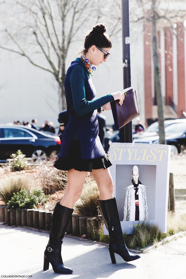 Paris_Fashion_Week-Fall_Winter_2015-Street_Style-PFW-Giovanna_Battaglia-Celine-