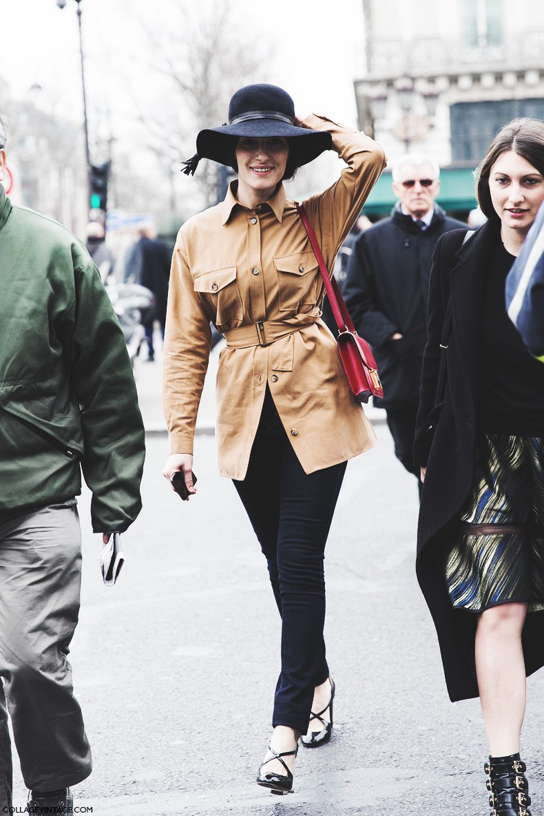 Paris_Fashion_Week-Fall_Winter_2015-Street_Style-PFW-Giulia_Tordini-Suede_Shirt-5