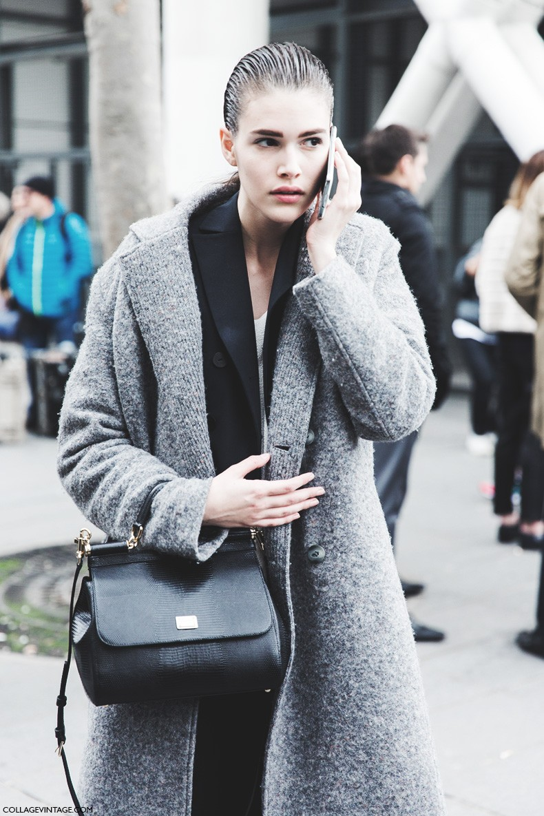 Paris_Fashion_Week-Fall_Winter_2015-Street_Style-PFW-Grey_Coat-