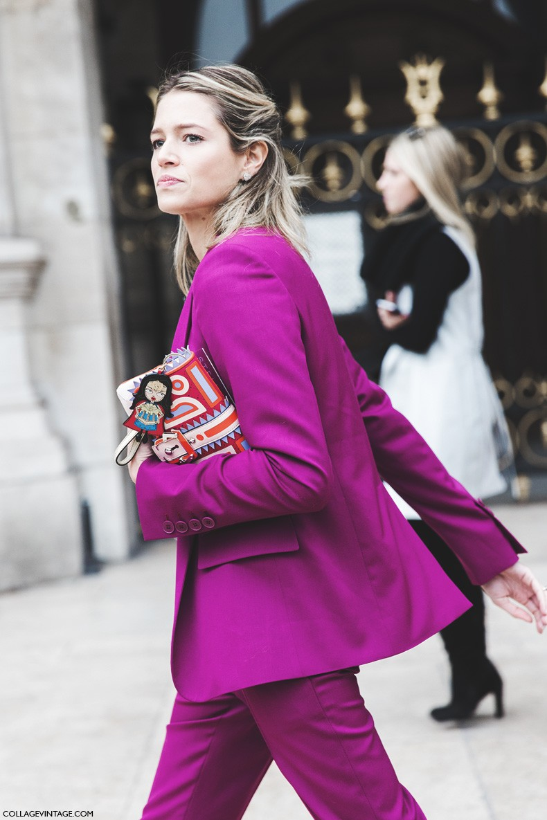 Paris_Fashion_Week-Fall_Winter_2015-Street_Style-PFW-Helena_Bordon-Suite_Pink-Stella_McCartney-