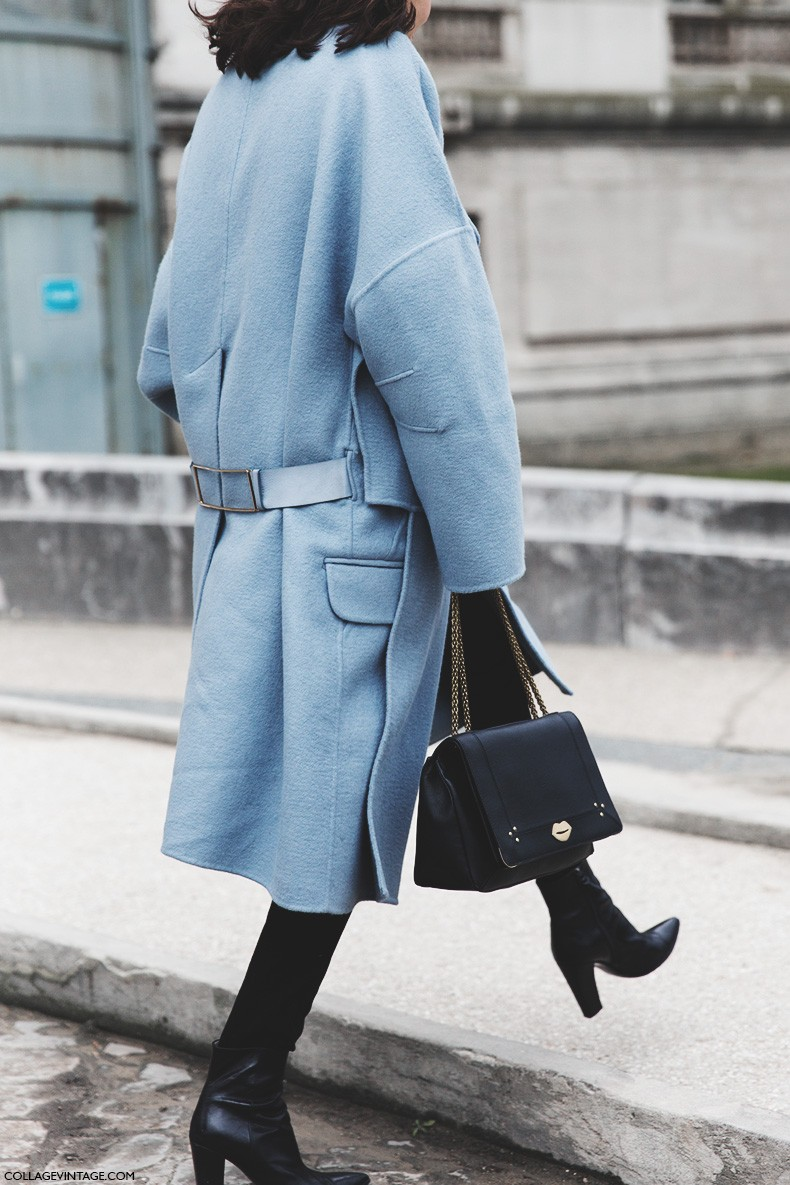 Paris_Fashion_Week-Fall_Winter_2015-Street_Style-PFW-Light_Blue_Coat-