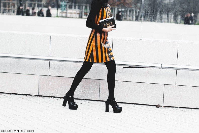 Paris_Fashion_Week-Fall_Winter_2015-Street_Style-PFW-Louis_Vuitton_Dress-
