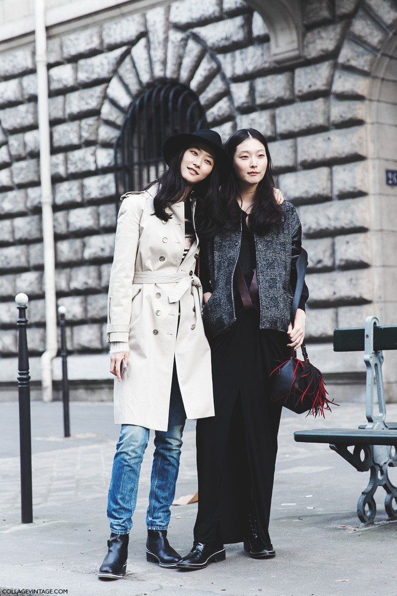 Paris_Fashion_Week-Fall_Winter_2015-Street_Style-PFW-Models_Friends-