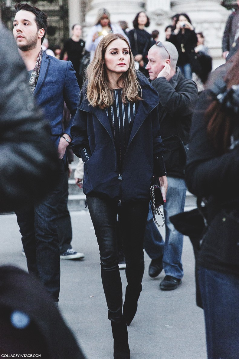 Fall Winter On Pinterest Olivia Palermo Street Styles And Fur Coats