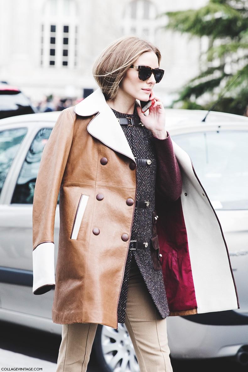 Paris_Fashion_Week-Fall_Winter_2015-Street_Style-PFW-Olivia_Palermo_Leather_Coat-Giambatista_Valli-