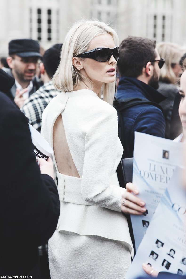 Paris_Fashion_Week-Fall_Winter_2015-Street_Style-PFW-Open_White_Dress-1