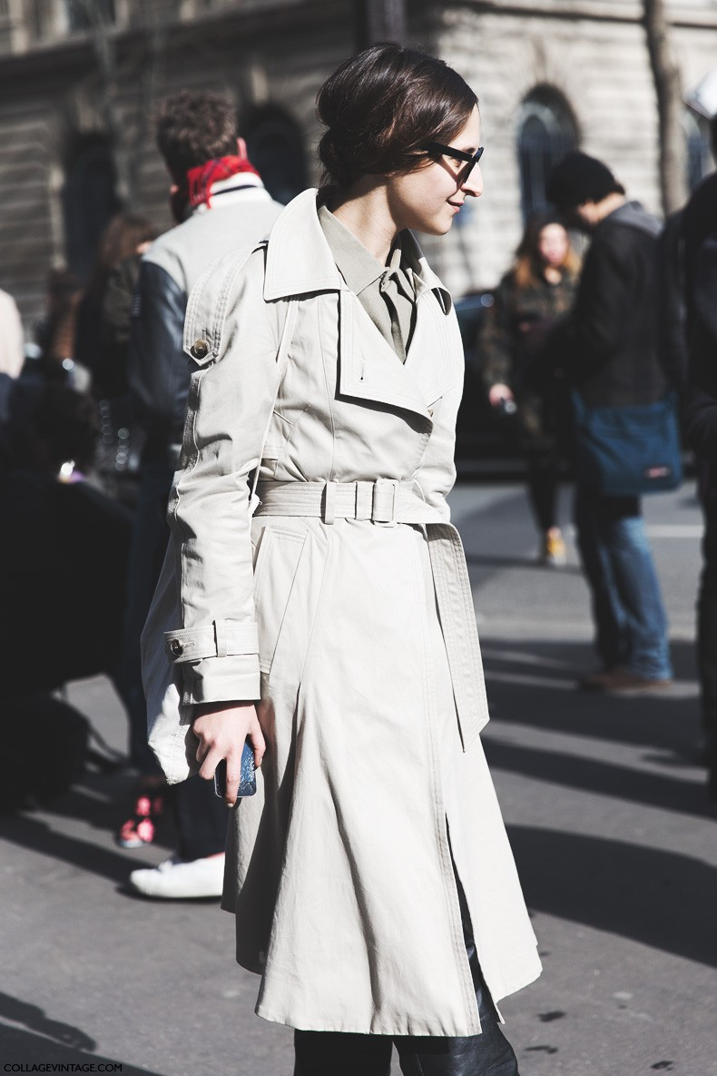 Paris_Fashion_Week-Fall_Winter_2015-Street_Style-PFW-Trench_Coat-