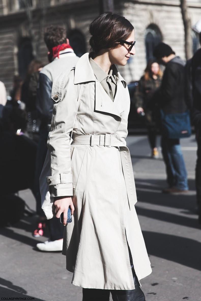 Paris_Fashion_Week-Fall_Winter_2015-Street_Style-PFW-Trench_Coat-