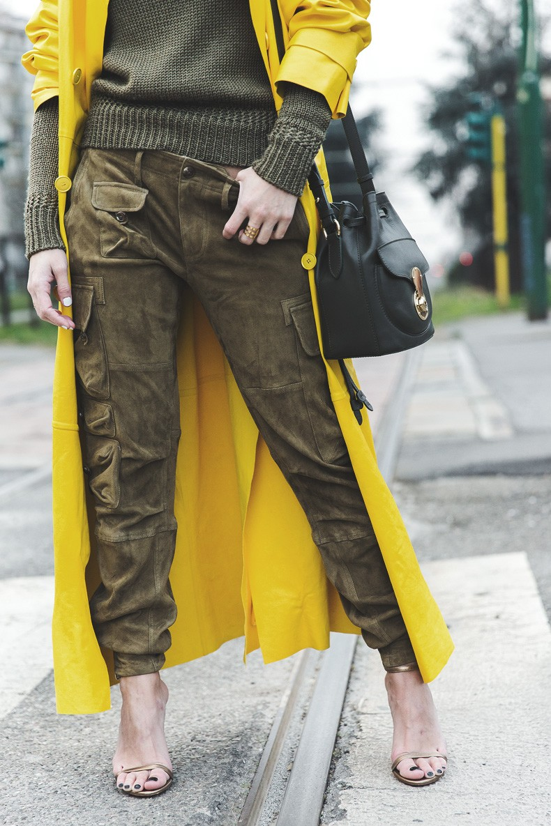 Ralph_Lauren_Spring_Summer_2015-Yellow_Leather_Trench-Suede_Cargo-trousers-Khaki-Outfit-MFW-Milan_Fashion_Week-Collage_Vintage-Street_Style-23