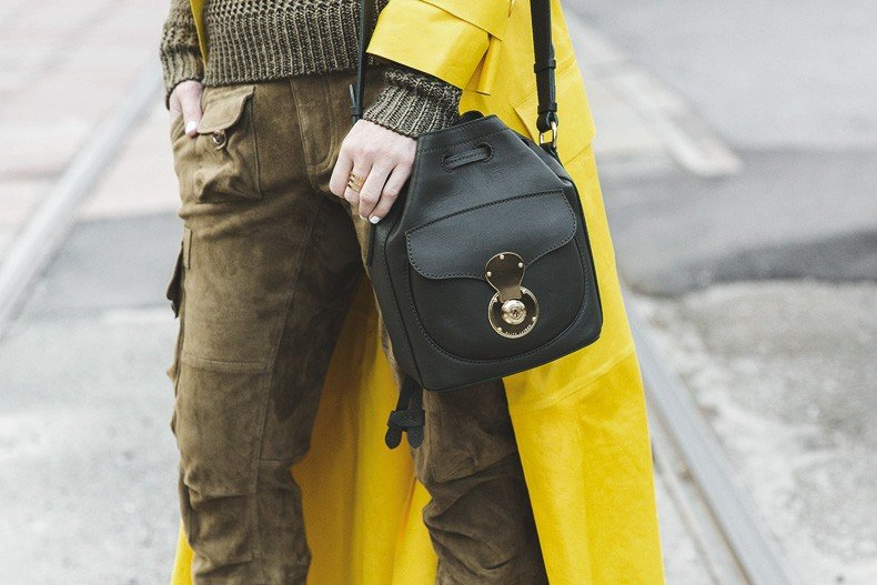 Ralph_Lauren_Spring_Summer_2015-Yellow_Leather_Trench-Suede_Cargo-trousers-Khaki-Outfit-MFW-Milan_Fashion_Week-Collage_Vintage-Street_Style-33