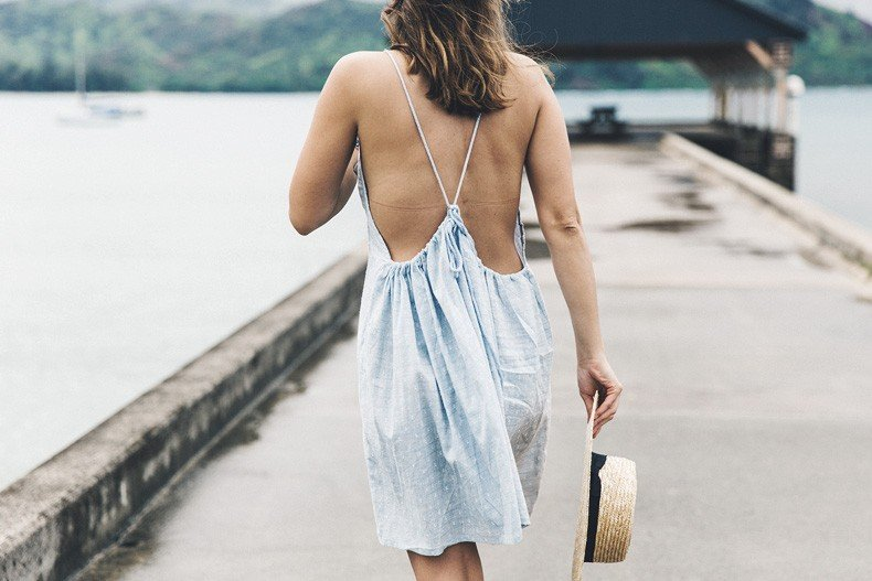 Hanaley_Bay-Kauai-Hawai-Travels-Tips-Sabo_Skirt_Dress-Straw_Hat-Lack_Of_Color-Outfit-Beach-Collage_Vintage-19