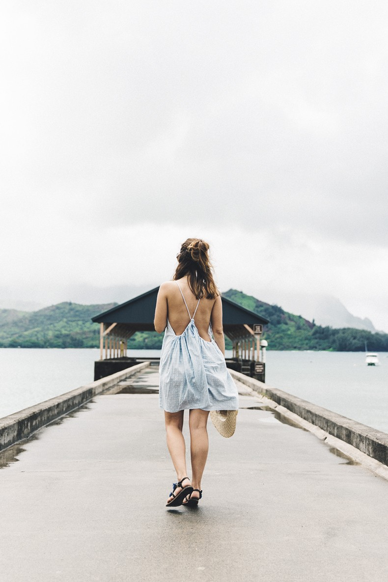 Hanaley_Bay-Kauai-Hawai-Travels-Tips-Sabo_Skirt_Dress-Straw_Hat-Lack_Of_Color-Outfit-Beach-Collage_Vintage-2