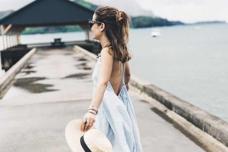 Hanaley_Bay-Kauai-Hawai-Travels-Tips-Sabo_Skirt_Dress-Straw_Hat-Lack_Of_Color-Outfit-Beach-Collage_Vintage-20