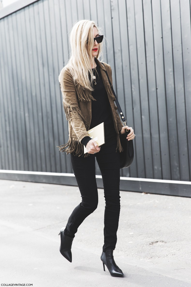 Paris_Fashion_Week-Fall_Winter_2015-Street_Style-PFW-Joanna_Hillman-Fringed_Jacket-