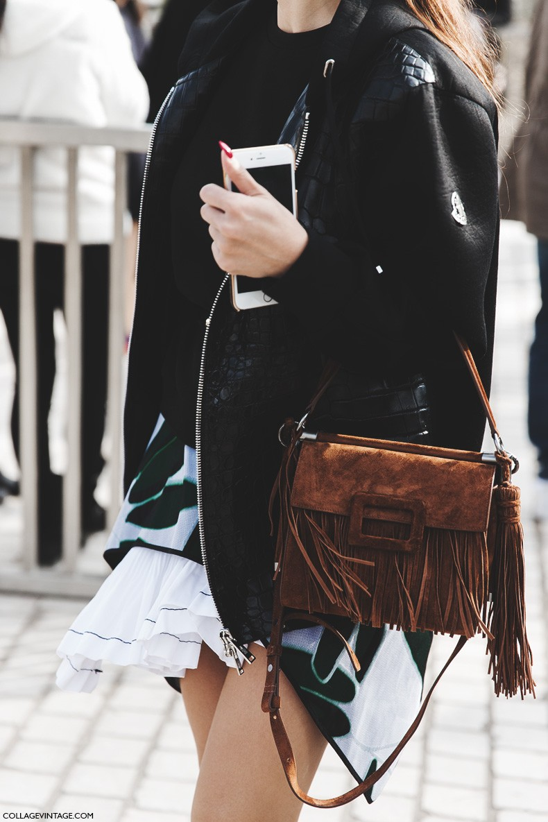 Paris_Fashion_Week-Fall_Winter_2015-Street_Style-PFW-Tina_Leung-Fringed_Bag-