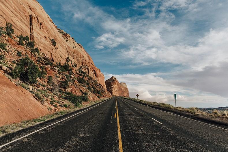 Gooseneck_State_Park-Glen_Canyon-Natural_Bridges-Utah-Chicwish-Off_The_Shoulders_Dress-Red-Converse-Collage_Vintage-Road_Trip-12