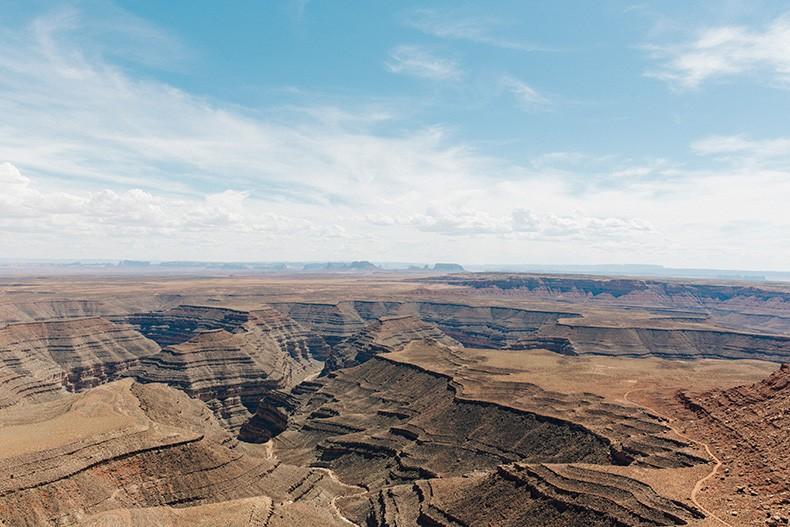 Gooseneck_State_Park-Glen_Canyon-Natural_Bridges-Utah-Chicwish-Off_The_Shoulders_Dress-Red-Converse-Collage_Vintage-Road_Trip-64