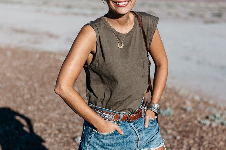 Painted_Desert_Petrified_Desert-Levis-Vintage-Maje_Belt-Outfit-Collage_on_The_Road-11
