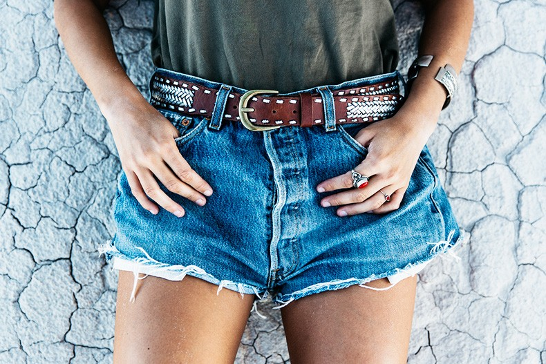 Painted_Desert_Petrified_Desert-Levis-Vintage-Maje_Belt-Outfit-Collage_on_The_Road-58