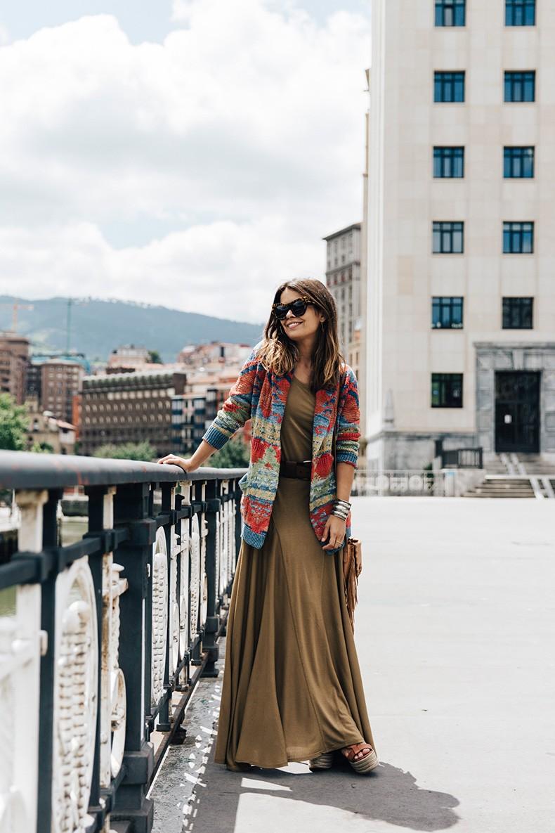 Polo_Ralph_Lauren-Bilbao-Collage_Vintage-Khaki_Maxi_Dress-Aztec_Cardigan-Wedges-Fringed_Bag-16