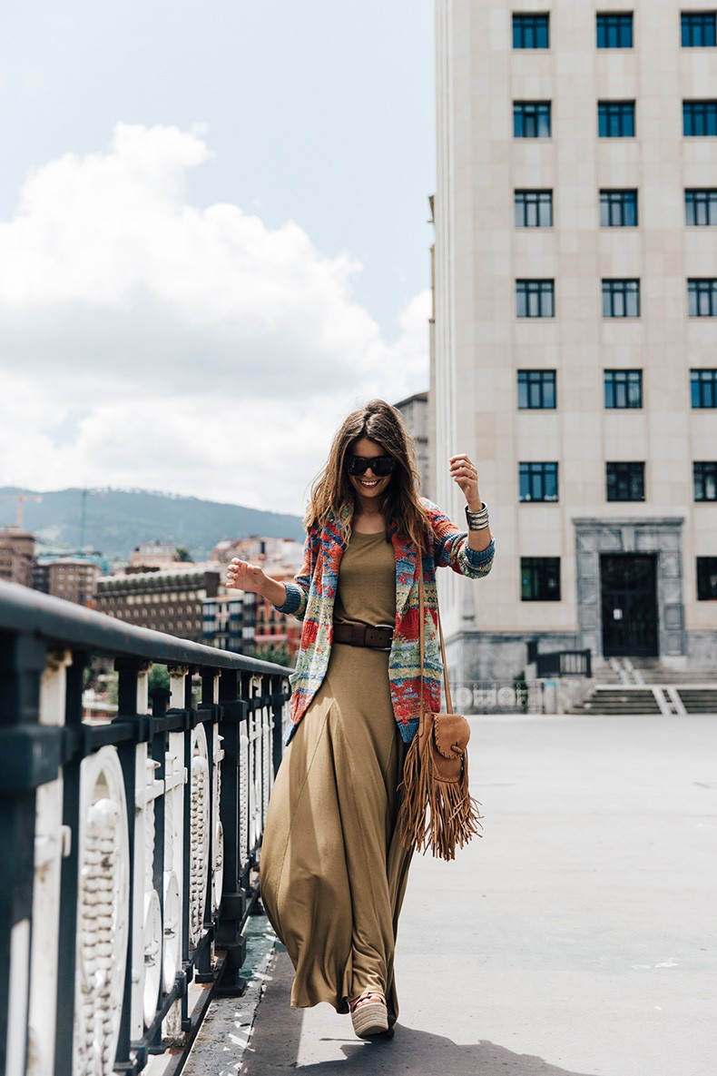 Polo_Ralph_Lauren-Bilbao-Collage_Vintage-Khaki_Maxi_Dress-Aztec_Cardigan-Wedges-Fringed_Bag-31