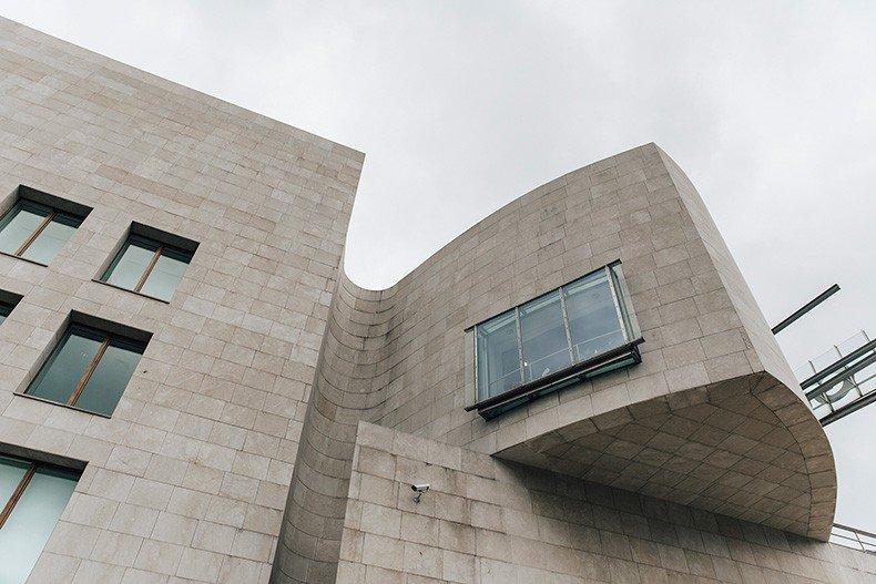 Polo_Ralph_Lauren-Bilbao-Collage_Vintage-Ruffled_Lace_Up_Blouse-Deerskin_Fringe_Short-Cardigan-Raffia_Wedges-Guggenheim-67
